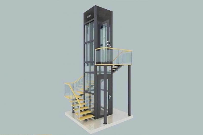 无机房家用电梯