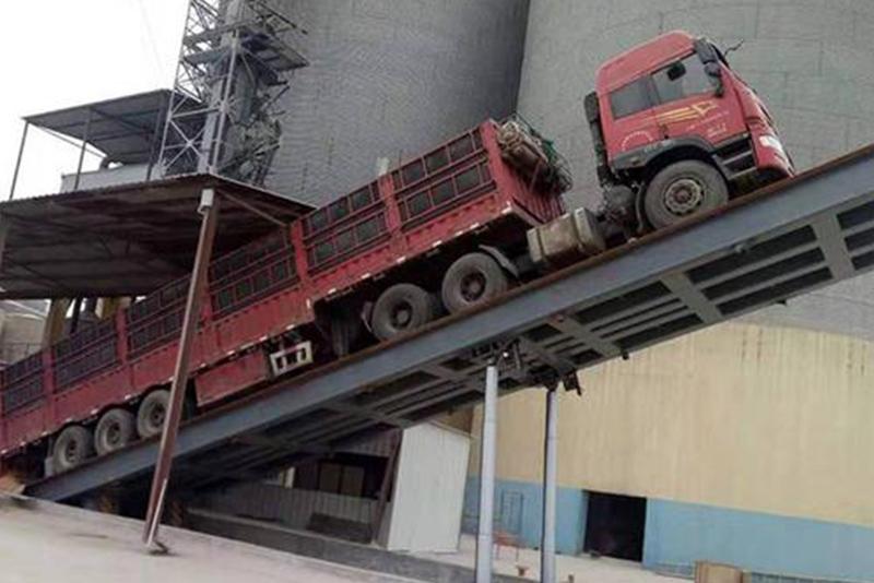 散粮卸车平台