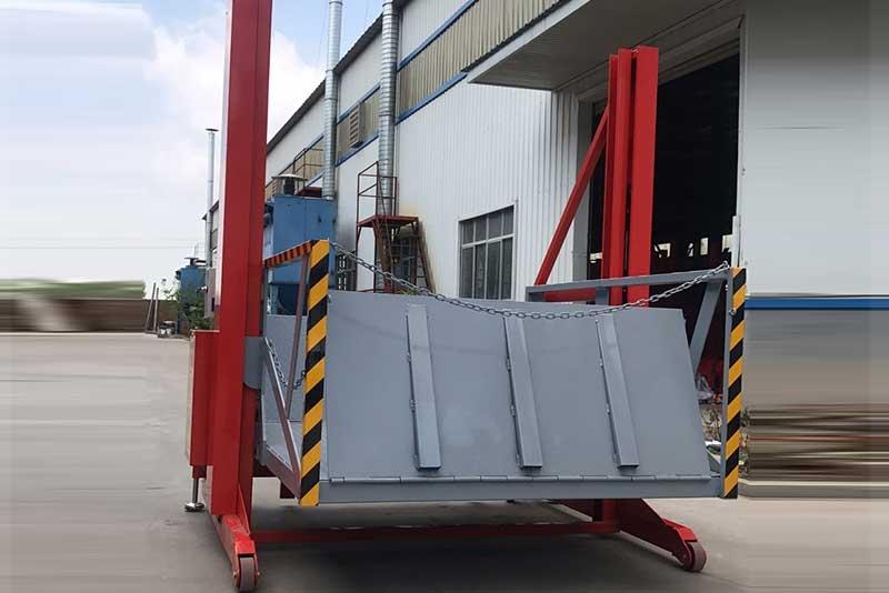 集装箱卸货平台